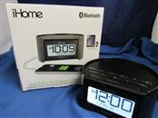 IHOME IBT230SSXC DUAL ALARM CLOCK RADIO